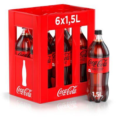 Coca-Cola zero Zucker Harass