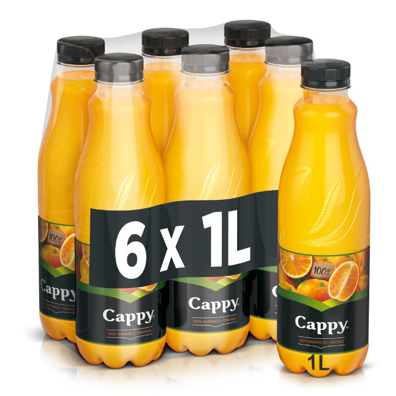 Cappy Orangensaft 6 x 1.0l PET, large