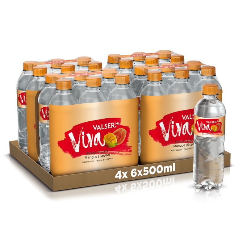 Valser Viva Mango & Guave 24 x 0.5l PET, large