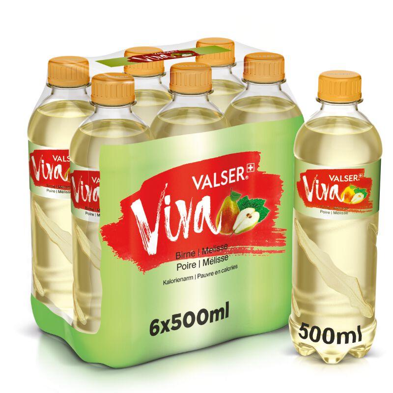 Valser Viva Birne & Melisse 6 x 0.5l PET, large