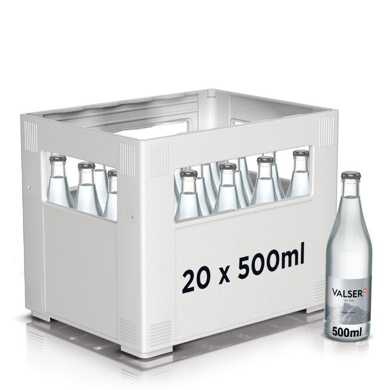 Valser Still Harass 20 x 0.5l Glas, large