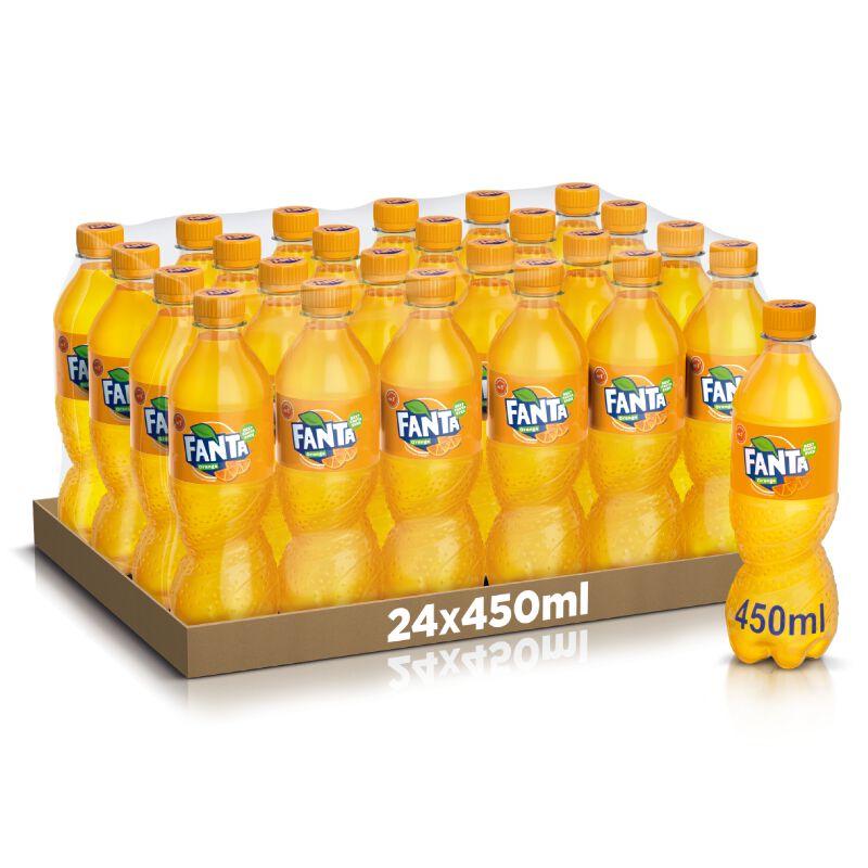 Fanta Orange 24 x 0.45l PET, large
