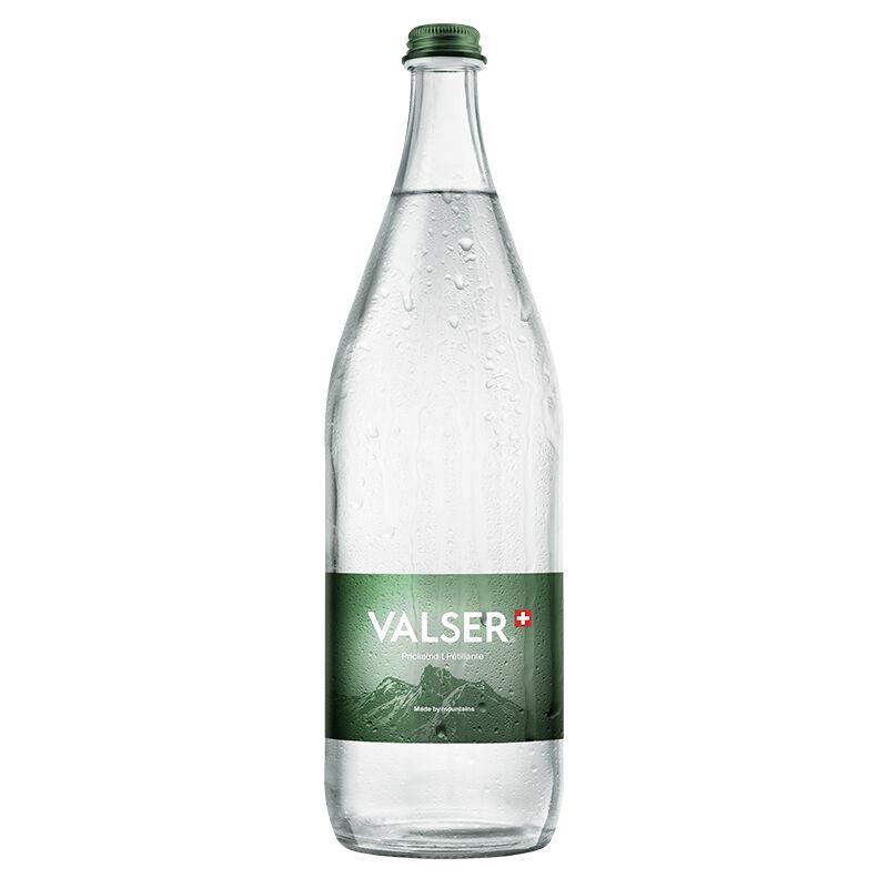 Valser Prickelnd 12 x 1.0l Glas, large