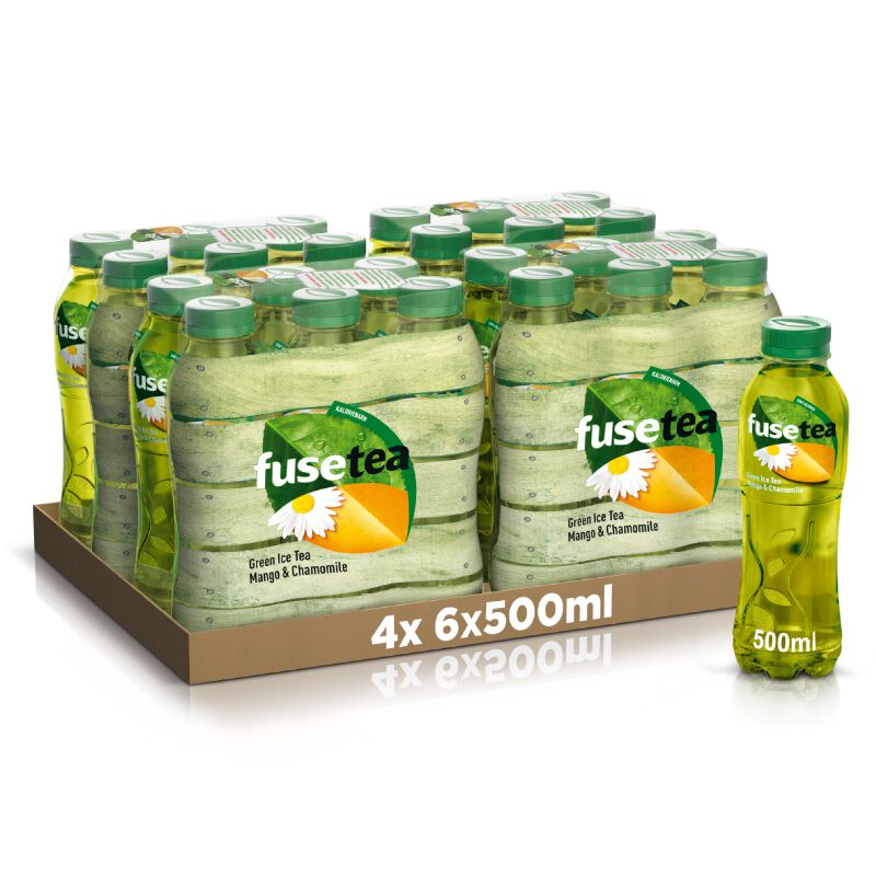 Fusetea Green Tea Mango Chamomile 24 x 0.5l PET, large