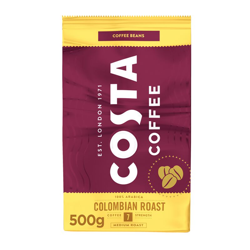 Costa Coffee Colombia Roast Bohnenkaffee 1 x 0.5kg, large
