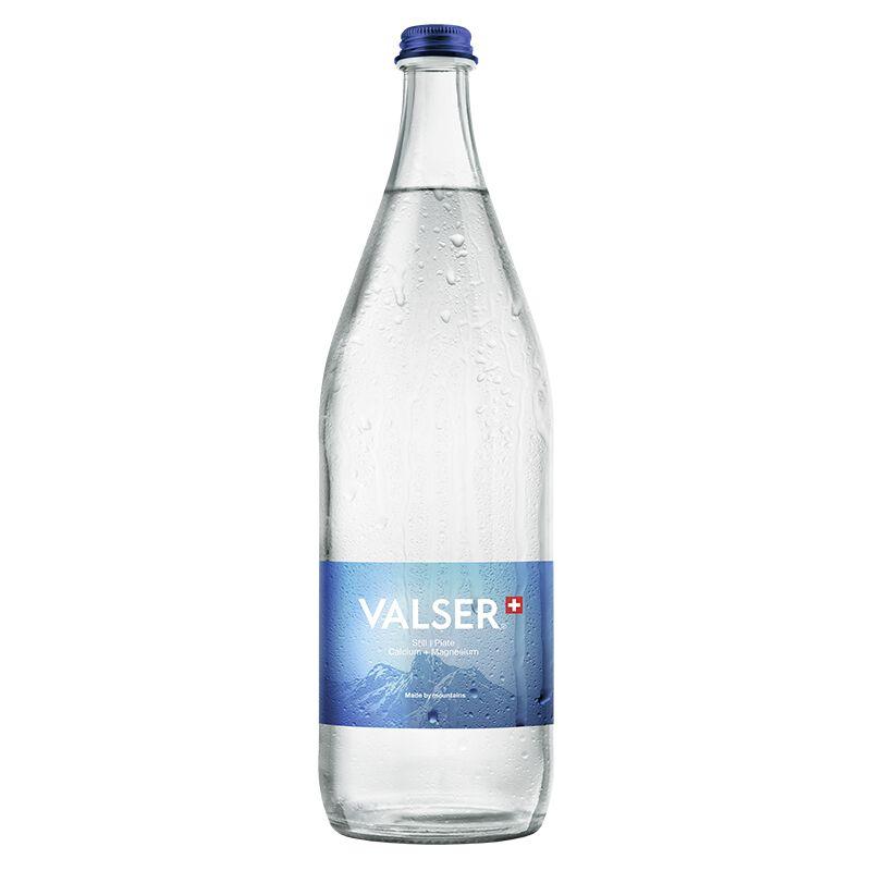 Valser Still Calcium + Magnesium Harass 12 x 1.0l Glas, large