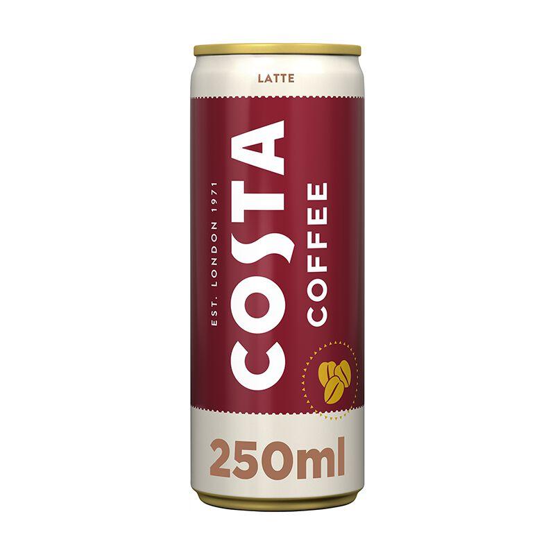 Costa Coffee Latte 12 x 0.25l Dose, large