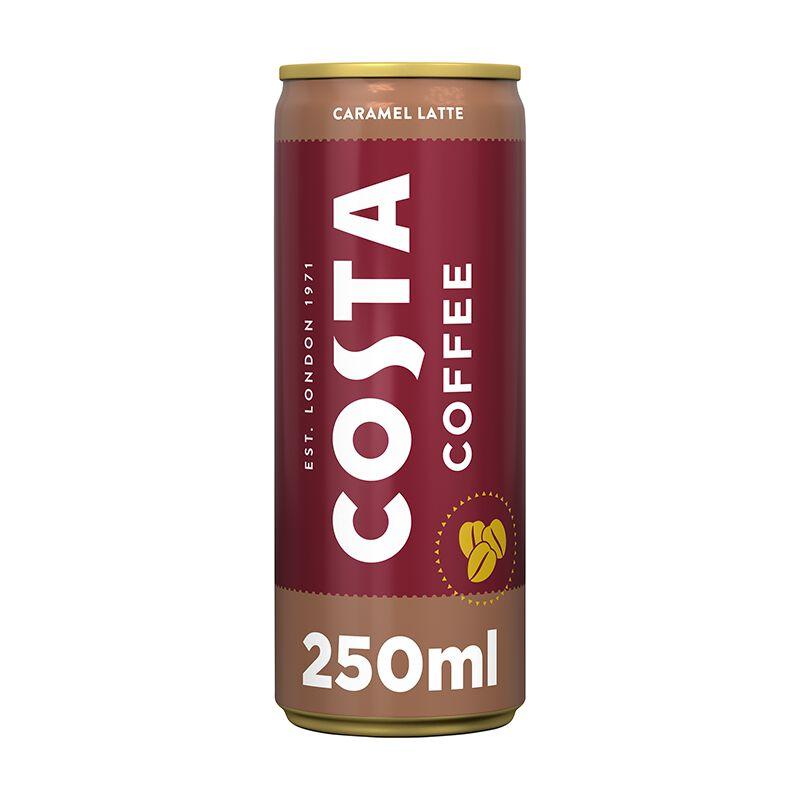 Costa Coffee Caramel Latte 12 x 0.25L Dose, large