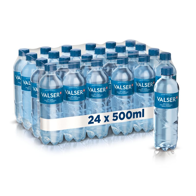 Valser Still Calcium + Magnesium 24 x 0.5l PET, large