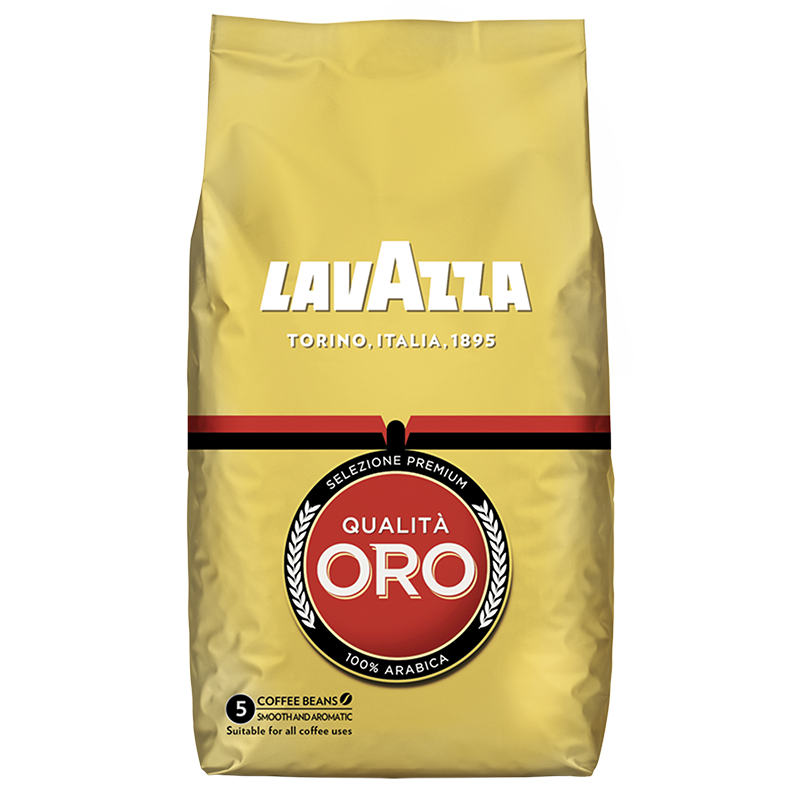 Lavazza Qualità Oro Bohnenkaffee 6 x 1.0kg Pack, large